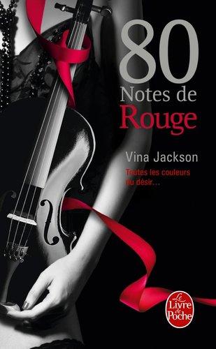 80 notes de rouge de Vina Jackson